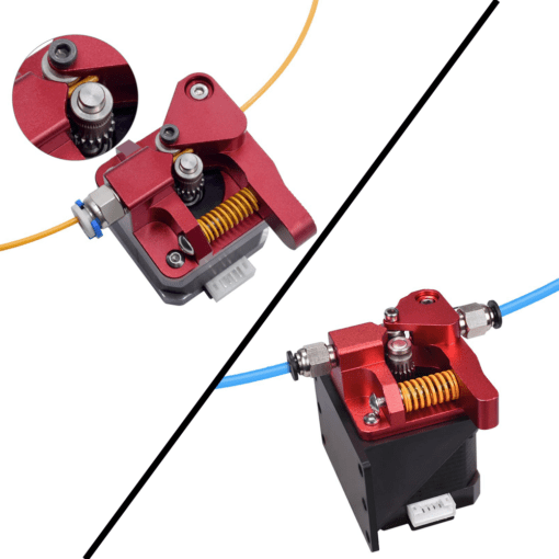 dual gear extruder