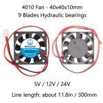 4010 Fan - Hydraulic bearing