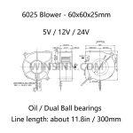 6025 blower